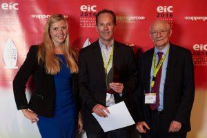award acceptance for EIC