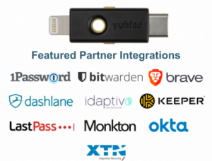 Featured Works with YubiKey iOS partner integrations
