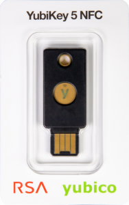 YubiKey 5 NFC package with RSA