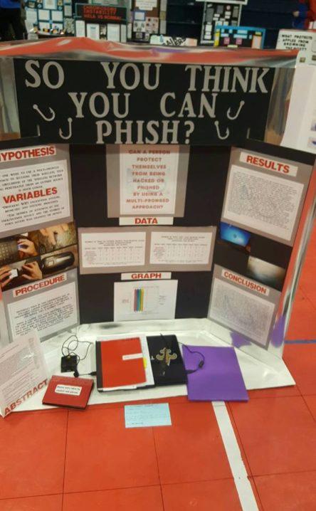 science fair phishing project