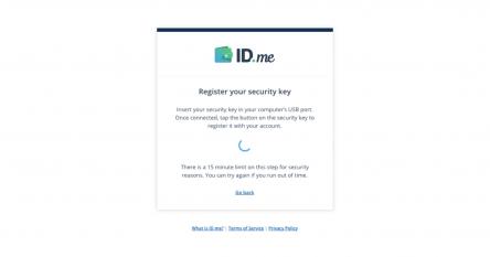 id.me u2f integration