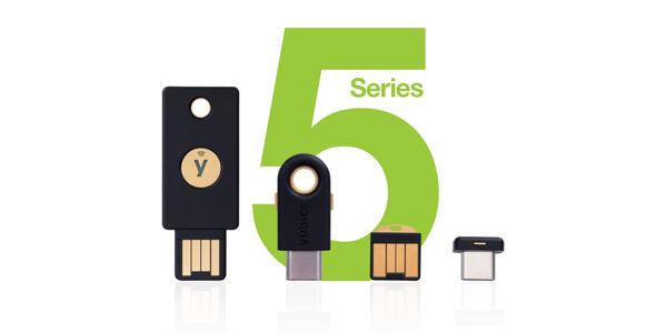 YubiKey 5 series lineup