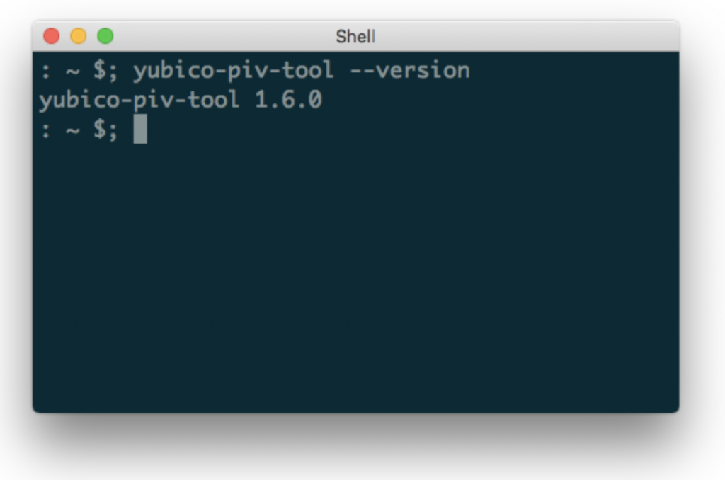 command line for piv tool