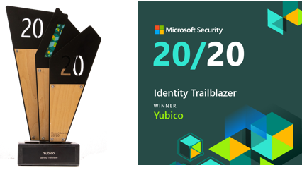 2020 Microsoft Security Award for Identity Trailblazer