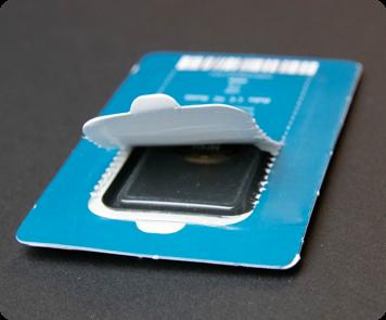 YubiKey 5 NFC with cardboard packaging damaged