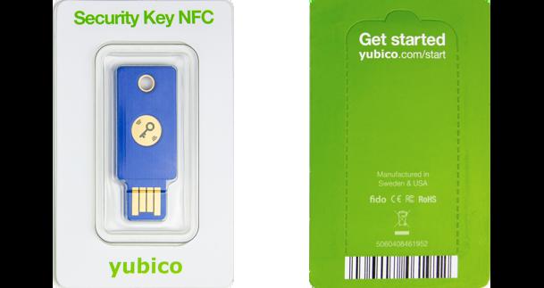 Security Key packaging