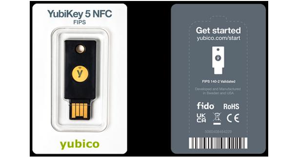 YubiKey 5 FIPS packaging