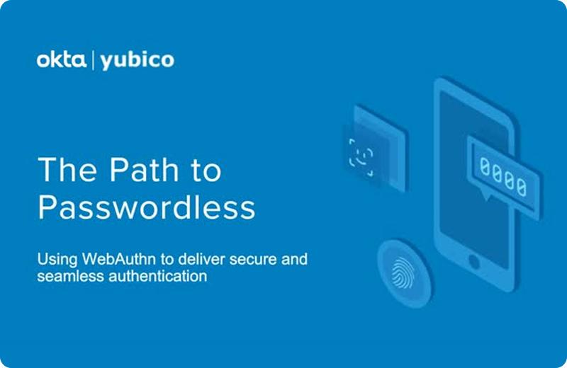 okta webinar - path to passwordless