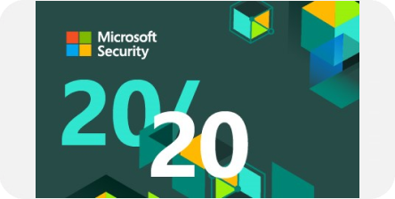 Microsoft security award logo