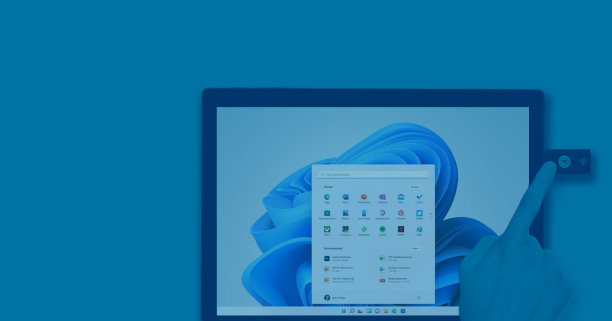 YubiKey plugged into laptop